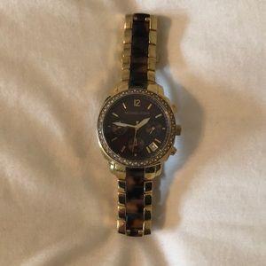 Michael Kors Gold/Tortoise Watch